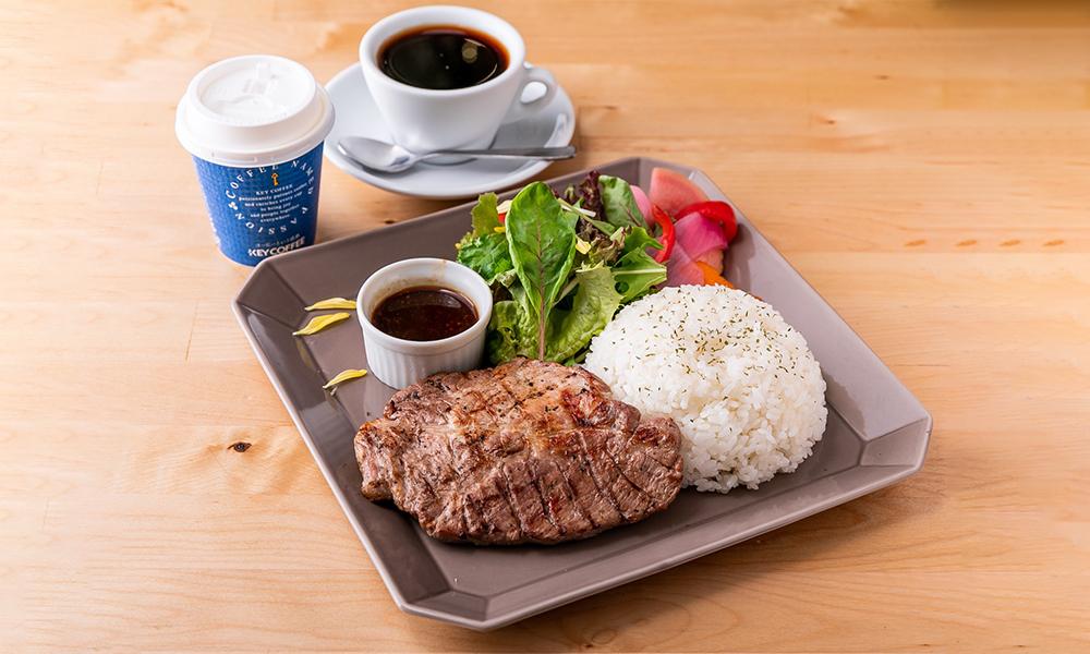 handmade beef hamburg lava grill lunch